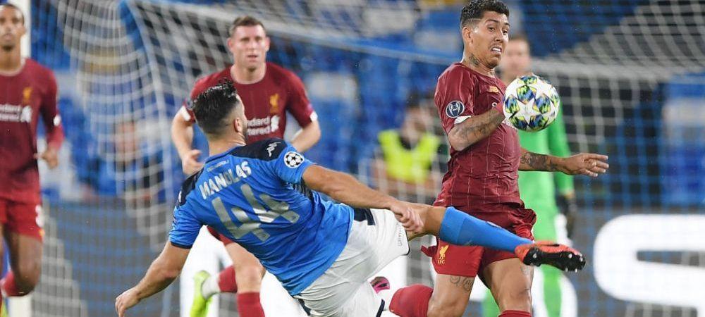 UEFA CHAMPIONS LEAGUE   SHOW TOTAL! Napoli invinge Liverpool cu 2-0! Borussia - Barca, fara gol: Reuss a ratat penalty! Ploaie de goluri in Salzburg - Genk 6-2   TOATE REZULTATELE
