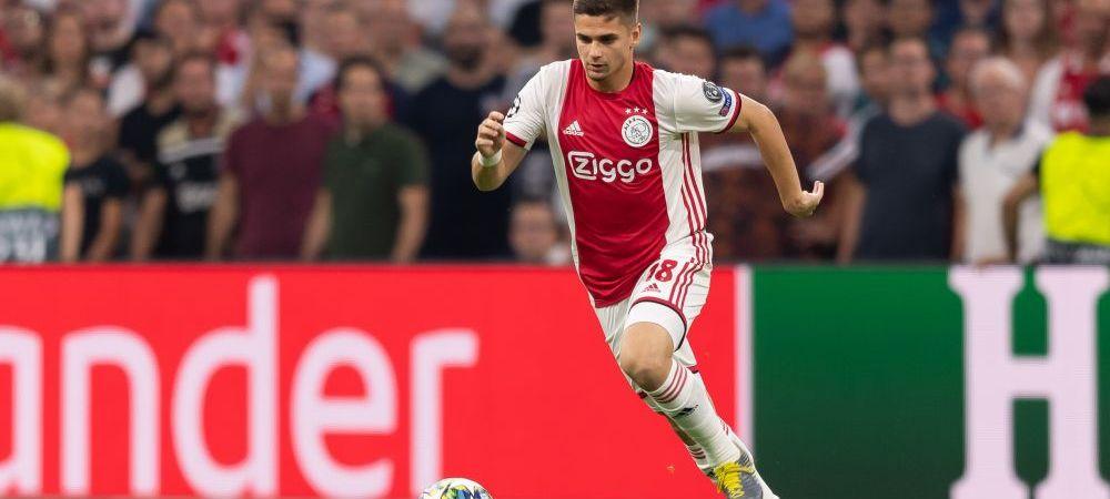 """Razvan Marin are sustinerea echipei! Ce jucator de la Ajax l-a laudat pe roman: """"Are calitati diferite, echipa trebuie sa reactioneze la asta"""""""