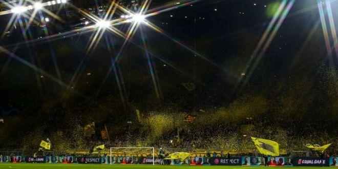 SHOW LA DORTMUND! Suporterii Borussiei au facut o noua coregrafie impresionanta pentru meciul cu Barcelona! Ce s-a intamplat in tribune