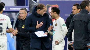 """Nici Tuchel nu-l mai apara pe Neymar: """"Trebuie sa suporte! A facut tot posibilul sa plece de la PSG!"""" Mesaj DUR pentru starul brazilian"""