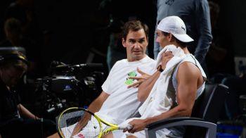 Nadal si Federer se antreneaza impreuna! Motivul colaborarii dintre cei doi: totul se intampla in weekend