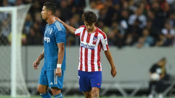 VIDEO EMOTIONANT   Prezentul si viitorul Portugaliei, in confruntare directa! Reactia lui Joao Felix cand Ronaldo s-a apropiat de el