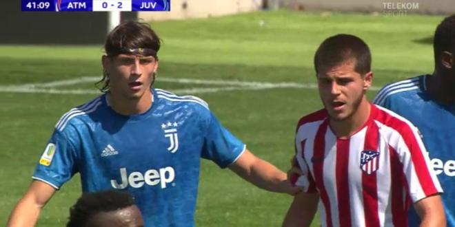 Un roman, inlocuitorul lui Chiellini la Juve! Ieri a jucat titular in Youth League si a umilit tineretul lui Atletico Madrid