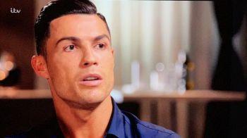 """Gestul incredibil al lui Cristiano Ronaldo la TV: """"Vreau sa le gasesc pe aceste femei, m-au ajutat foarte mult"""" Ce a urmat imediat"""