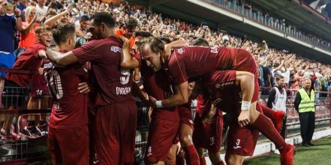 CFR CLUJ - LAZIO, LIVE 19:55 | Clujenii spera la o victorie URIASA! Lazio, fara Radu Stefan in lot! Echipele probabile