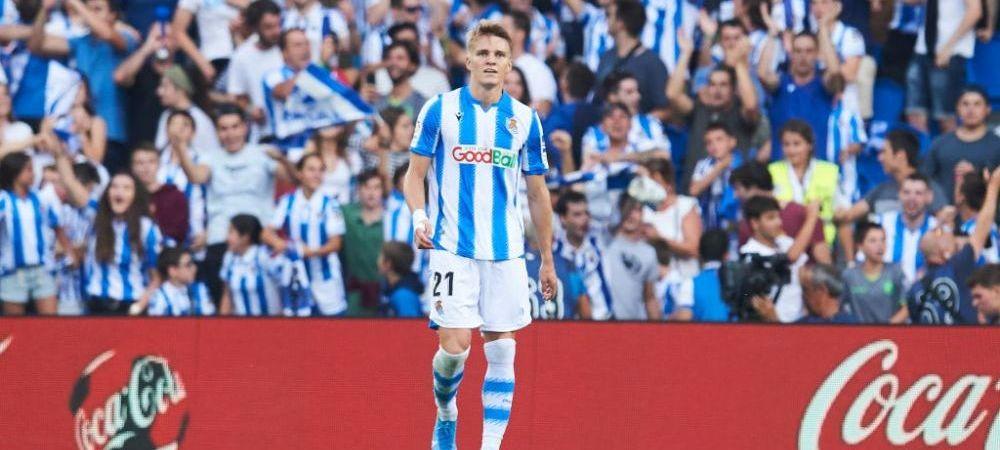Jucatorul lunii a fost premiat cu un...PESTE! Martin Odegaard a fost rasplatit pentru prestatiile bune avute la Real Sociedad