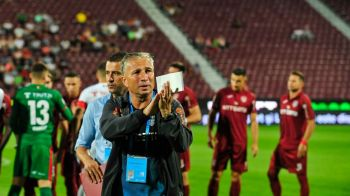 "CFR CLUJ - LAZIO 2-1 | Asta le-a spus Dan Petrescu la pauza! Cum i-a motivat antrenorul pe clujeni: ""Ne-a ajutat sa castigam!"""