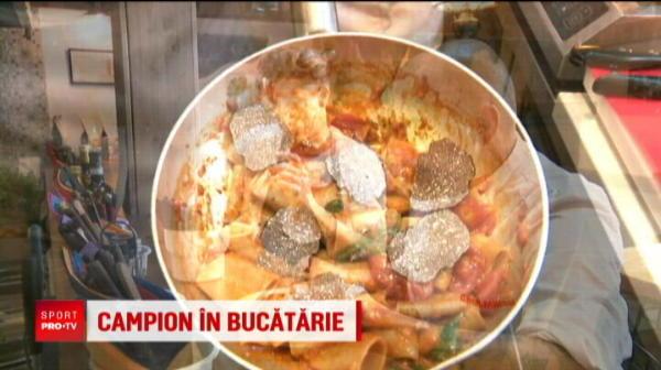 Master Chef din Stefan cel Mare! Portarul lui Dinamo este campion in bucatarie. Ce gateste Piscitelli si ce parere are despre mancarea romaneasca