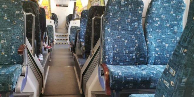 Incredibil! Trenul  civilizat  care circula prin Romania. Cum arata in interior