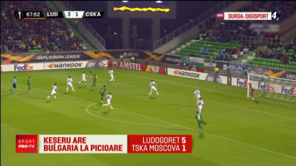 Claudiu Keseru, jucatorul SAPTAMANII in Europa League! Hattrick-ul senzational reusit pentru Ludogorets. VIDEO