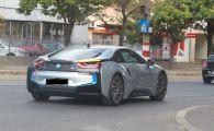 Surpriza: cine a coborat din acest BMW cu numere de Bucuresti! Foto paparazzi
