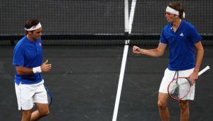 CUPA LAVER   Nadal si Federer au debutat in postura de antrenori! Cum s-a desfasurat prima zi a turneului