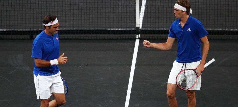 CUPA LAVER | Nadal si Federer au debutat in postura de antrenori! Cum s-a desfasurat prima zi a turneului
