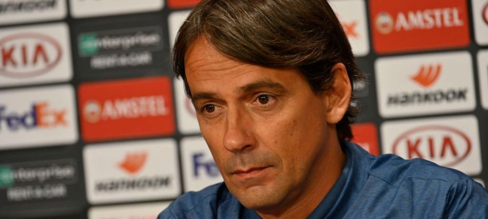 CFR Cluj a lasat urme adanci la Lazio! Inzaghi in pericol sa isi piarda postul. Cine este favorit sa il inlocuiasca
