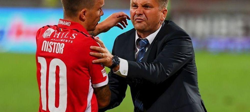 """ASTRA - DINAMO 3-2   """"Una vorbim la vestiare, alta facem pe teren"""". Cum a explicat Uhrin caderea lui Dinamo din repriza a doua"""