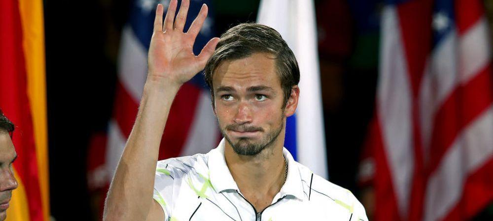 """As vrea sa fiu antrenat de Sampras, Agassi ori Safin!"" Medvedev, declaratie indrazneata! Rusul e finala turneului de la St. Peteresburg"