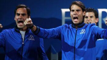CUPA LAVER | Federer si Nadal joaca astazi impreuna la dublu! Cei doi au fost antrenori pentru o zi