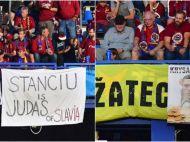 """""""STANCIU = SOBOLAN; STANCIU = TRADATOR"""" Suporterii Spartei Praga l-au fluierat si injurat pe Stanciu, dar romanul a castigat derbyul Cehiei"""