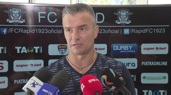 """Daniel Pancu, nemultumit de gazon: """"O echipa ca Rapid nu ar trebui sa aiba un gazon ca asta"""". Ce a spus despre meciul din Cupa Romaniei"""