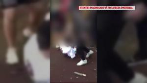 Scene violente intr-un parc din Bucuresti. Un minor, batut crunt pentu o suma de bani