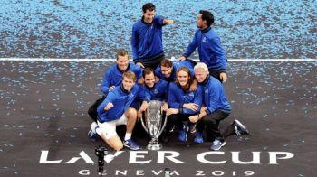 Victorie dramatica in Cupa Laver! Echipa Europei a castigat la limita dupa ce Rafael Nadal s-a accidentat