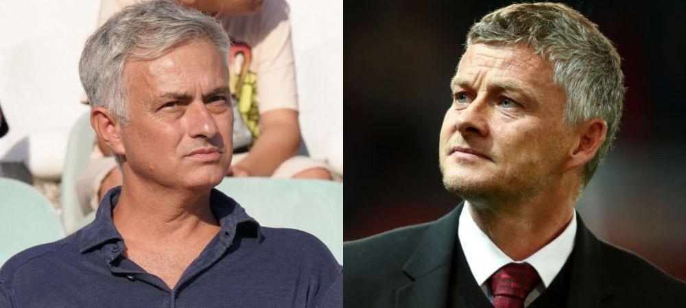 "Mourinho, ATAC DIRECT la adresa lui Solskjaer! ""Meritam sa fiu demis, dar acum e mai rau ca inainte!"" Portughezul, dezamagit ca fosta echipa se chinuie in Premier League"