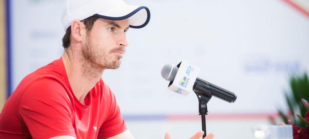 "Mesajul emotionant transmis de Andy Murray! ""Ar fi naiv si stupid sa cred asta"" Ce planuri are tenismenul britanic"