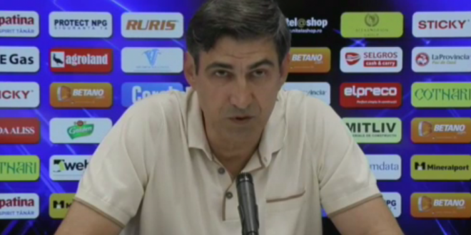 Piturca a gasit solutia! Unde va juca Craiova daca nu se repara gazonul de pe  Ion Oblemenco :  L-am vazut, are un teren foarte bun!