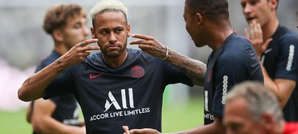"""PACTUL facut de PSG si Neymar! Tuchel: """"E 100% cu noi, iar noi suntem 100% cu el"""". Ce face brazilianul la antrenamente"""