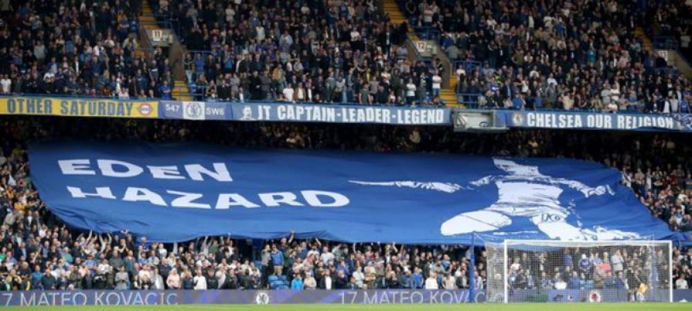 UIMITOR! Eden Hazard a fost personajul principal la meciul dintre Liverpool si Chelsea! Eroare uriasa facuta de fanii lui Chelsea