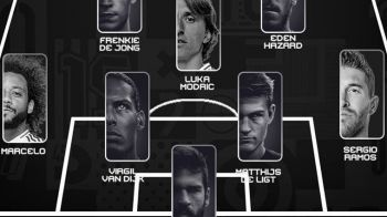 GALA FIFA BEST   Asa arata cel mai bun prim 11 din lume! Ronaldo si Messi, in aceeasi echipa! Formatia ideala a anului 2019