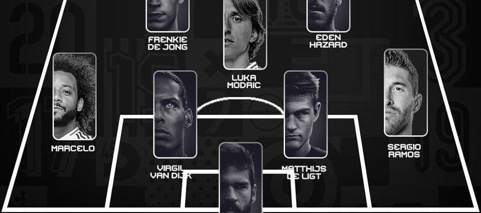 GALA FIFA BEST | Asa arata cel mai bun prim 11 din lume! Ronaldo si Messi, in aceeasi echipa! Formatia ideala a anului 2019