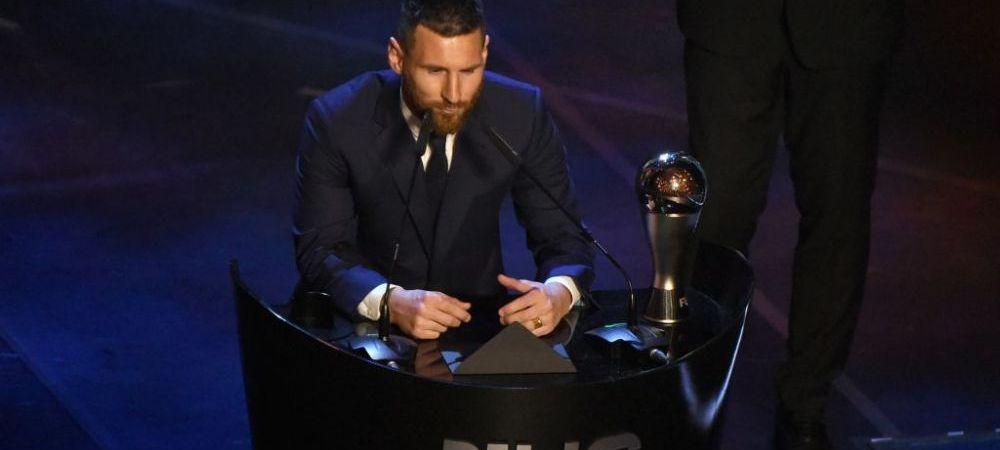 GALA FIFA BEST   Cum au votat jucatorii! Messi l-a votat pe Ronaldo, portughezul a avut un top suprinzator. LISTA COMPLETA