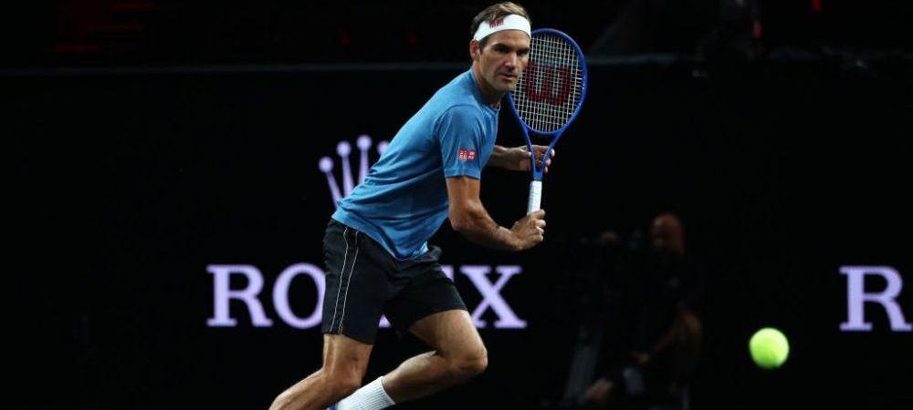 Moment rar cu Roger Federer! Elvetianul, surprins in timp ce injura in tunelul spre vestiare | VIDEO