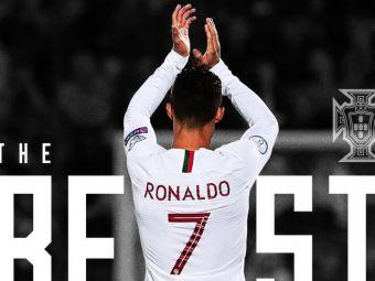 """""""Cel mai bun din istorie!"""" Portughezii l-au votat pe Ronaldo la premiile The Best. Ce i-au pregatit"""