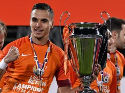 Cat costa transferul definitiv al lui Cristi Manea la FCSB! Fundasul inclus in echipa ideala de la EURO U21 poate debuta la FCSB joi, in Cupa, dupa 2 sezoane la CFR