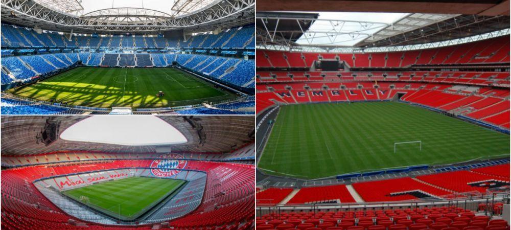 UEFA a anuntat unde se vor juca urmatoarele 4 finale ale Champions League! Europa League se decide in 2021 pe Sanchez Pizjuan, iar Supercupa Europei la Belfast