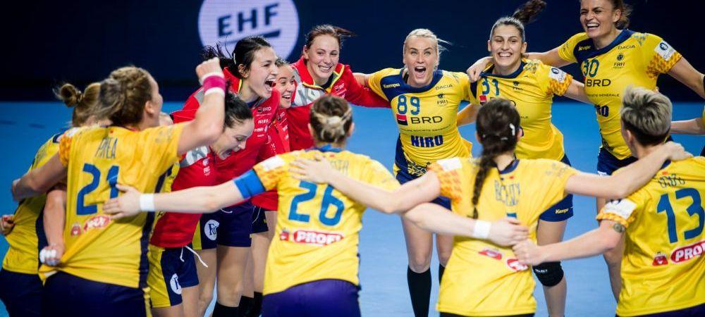 HANDBAL FEMININ | ROMANIA - UCRAINA 27-24! Romania castiga primul meci pentru calificarea la EURO 2020