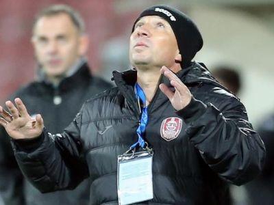 Dan Petrescu mai ramane in tribuna! Cu ce suspendare s-a ales antrenorul CFR-ului si cand va putea reveni pe banca echipei