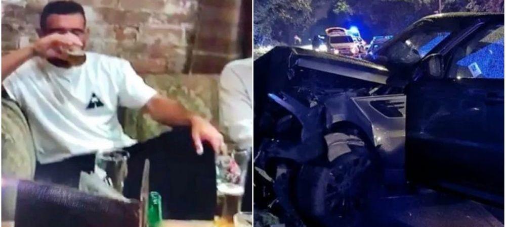DEZASTRU pentru vedetele unei echipe din Anglia! S-au imbatat si au facut accident cu masina! Unul din ei risca sa nu mai joace niciodata!