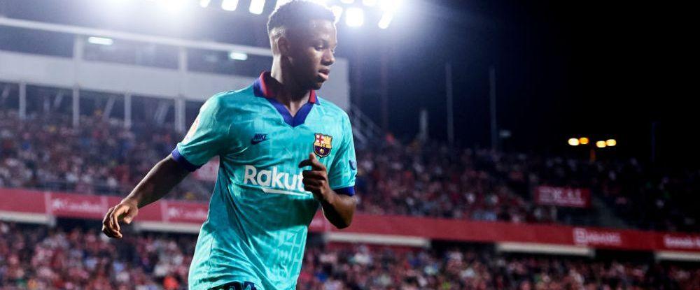 ALERTA la Barcelona, ANSU FATI s-a rupt! Dupa ce l-a pierdut pe Messi, acum s-a accidentat si pustiul minune