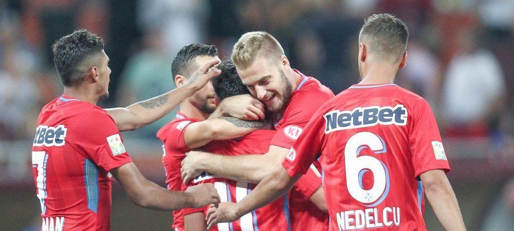 "CLINCENI - FCSB 0-3   ""Copiii de aur"" ai FCSB-ului au facut SHOW: Tanase, Coman si Morutan au lovit mortal"