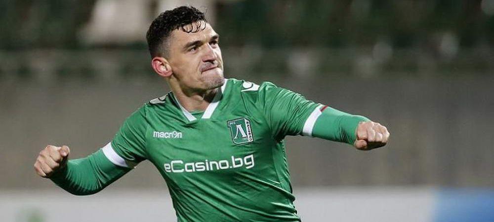 VIDEO | Keseru, goluri la foc automat in Bulgaria! Romanul a lovit din nou