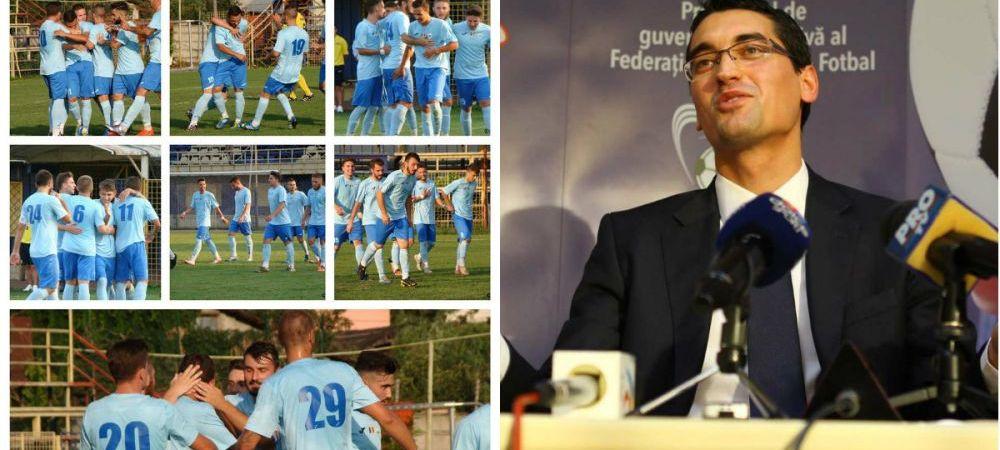 Cutremur: un club de traditie al fotbalului romanesc, dizolvat de FRF pentru o datorie minuscula de 7.000 RON. Judecatoria Sectorului 3 a dat decizia finala