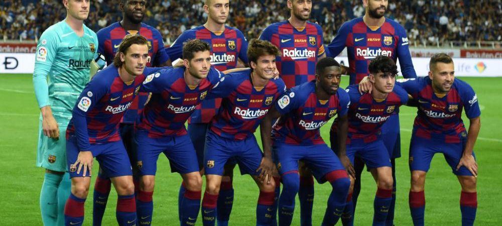 A driblat ca Maradona si a inscris ca Messi! Noul pusti MINUNE al Barcelonei a inscris un super gol