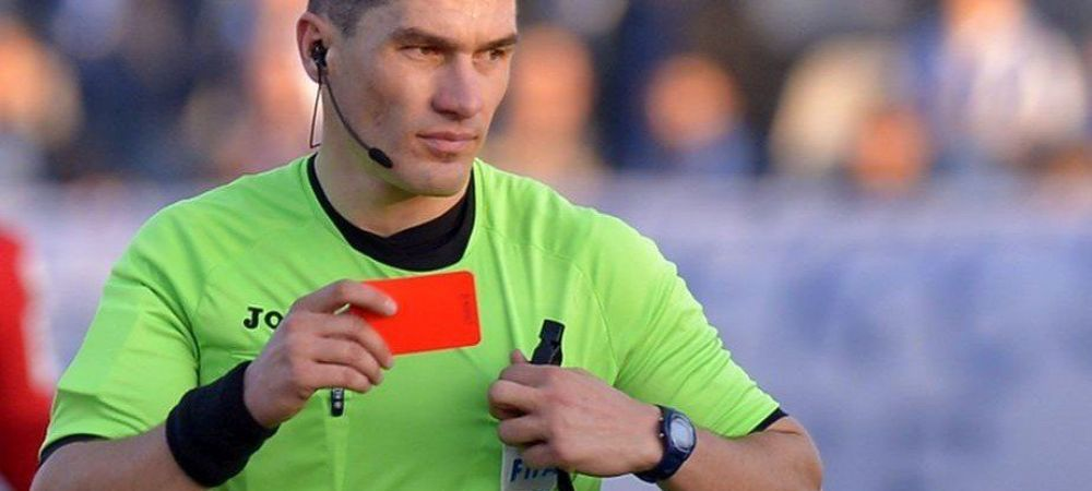 Doua scandaluri in doua meciuri, dar merge sa arbitreze in Champions League! Unde l-a trimis UEFA pe Istvan Kovacs dupa ce l-a dat afara pe Edi Iordanescu aseara