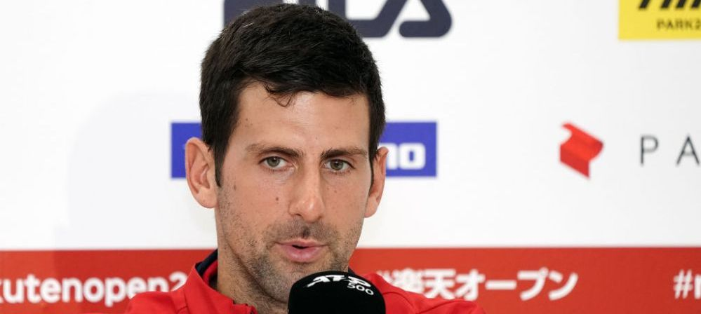 """Am fost aproape sa il mut un centimetru"" Djokovic s-a reprofilat! Ce sport a incercat tenismenul la Tokyo"