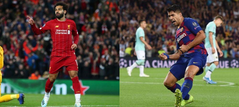 SHOW TOTAL IN LIGA | Dublele magice! Salah si Suarez isi salveaza echipele! Salzburg, aproape de o noua minune in Champions League! Ajax a facut instructie cu Valencia | TOATE REZULATELE