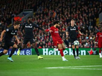 Au crescut cu finala NEBUNA a lui Liverpool si au fost la un pas sa repete MINUNEA chiar pe Anfield! Discurs FABULOS al antrenorului lui Salzburg la pauza meciului