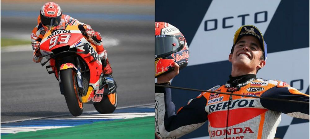 Spaniolul zburator! Marquez, al 6-lea titlu in MotoGP, dupa triumful din Thailanda! Cum arata clasamentul